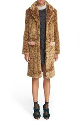 Shrimps Women's 'Claude' Leopard Print Faux Fur Coat