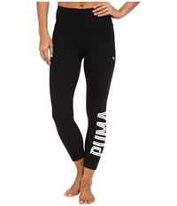 Puma Style Swagger 3 4 Leggings Black Women's Clothing