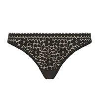 Princesse Tam Tam Princesse Tam Tam Monica Jacquard Lace Briefs Female Black