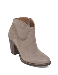 Lucky Brand Eller Leather Ankle Length Booties Brindle