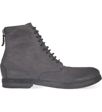 Marsell Listello Military Boot Black