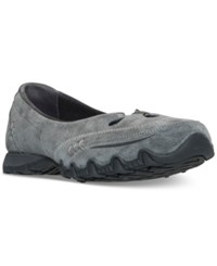 Skechers Women's Ballet Kicks Athletic Flats From Finish Line Charcoal