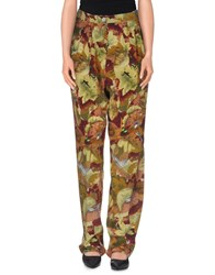 Momoni Momoni Trousers Casual Trousers Women Military Green