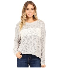 Roxy Victory Dance Pullover Heritage Heather Women's Long Sleeve Pullover Gray