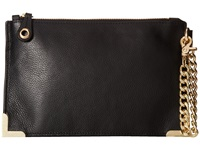Foley Corinna Framed Wristlet Clutch Black Clutch Handbags