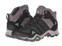 Adidas Outdoor Ax 2 Mid Gtx W Carbon Black Bahia Pink Women's Hiking Boots