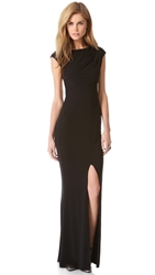 Rachel Zoe Adriana Ii Mermaid Maxi Dress Black