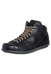 Stonefly Bomber Laceup Boots Black