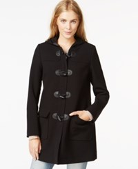 Maison Jules Hooded Toggle Coat Only At Macy's Deep Black