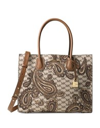 Michael Michael Kors Mercer Paisley Large Convertible Tote Luggage