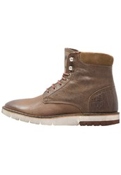 Marc O'polo Laceup Boots Taupe