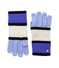 Kate Spade Color Block Gloves Ensemble Blue Extreme Cold Weather Gloves