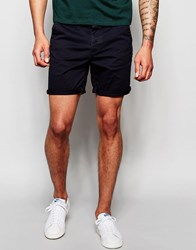 Only And Sons Chino Shorts Navy