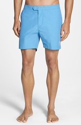 Psycho Bunny Solid Swim Shorts Pacific