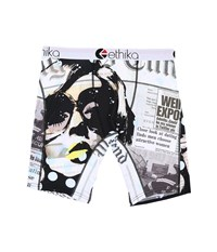 Ethika The Staple Good News Boxer Brief Black Red Men's Underwear