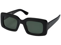 Raen Flatscreen Black Fashion Sunglasses