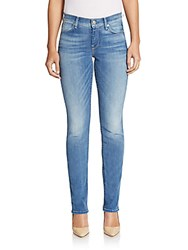 7 For All Mankind The Modern Straight Leg Jeans Ice Blue
