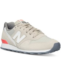 New Balance Women's 696 Summer Utility Casual Sneakers From Finish Line Beach Sand Dragonfly