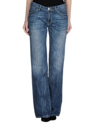 Gaudi Jeans And Style Denim Pants Blue