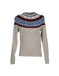 U Ni Ty Unity Knitwear Jumpers Men Grey