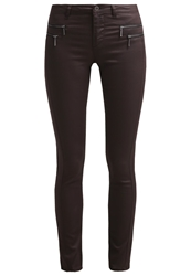 Only Slim Fit Jeans Black Coffee Dark Brown