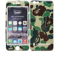 A Bathing Ape X Gizmobies Abc Camo Iphone 6 Cover Green