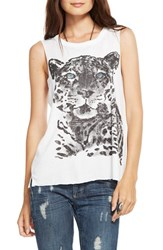 Women's Chaser 'Blue Eyed Tiger' Muscle Tank