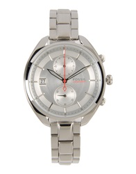 Fossil Wrist Watches Silver