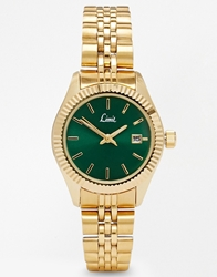 Limit Green Coloured Face Metal Watch