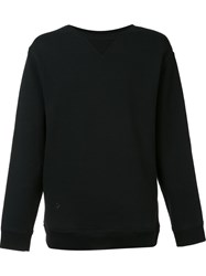 Robert Geller 'The Seconds' Sweatshirt Black