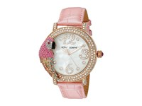 Betsey Johnson Bj00571 02 Pink Parrot Pink Rose Gold Watches