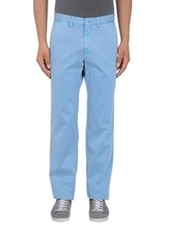 Faconnable Casual Pants Sky Blue