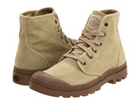 Palladium Pampa Hi Stonewashed Dark Khaki Men's Lace Up Boots