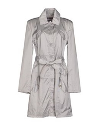 Cristinaeffe Full Length Jackets Light Grey