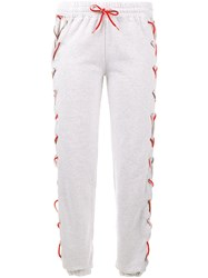 Filles A Papa 'Amen' Track Pants Grey