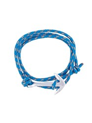 Miansai Anchor Wrap Bracelet Blue