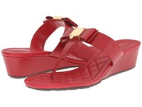 Cole Haan Tali Grand Bow Sandal 40 Tango Red Women's Sandals