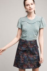Anthropologie Casual Friday Tee Green