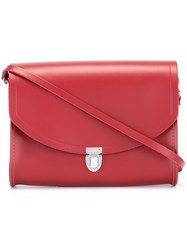 The Cambridge Satchel Company 'The Push Lock' Bag Red