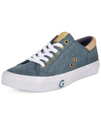 G By Guess Chai Lace Up Sneakers Women's Shoes Denim