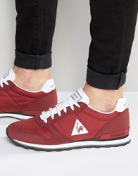 Le Coq Sportif Sigma Classic Trainers In Red 1620191 Red