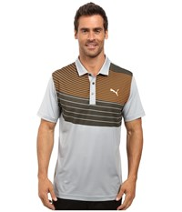 Puma Gt Swoop Polo Quarry Men's Clothing Brown