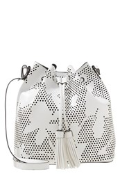 Anna Field Tote Bag White Black