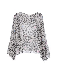 Rose' A Pois Shirts Blouses Women White