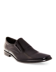 Steve Madden Hikick Patent Leather Loafers Black Patent