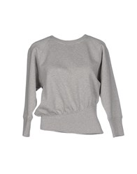 Jean Paul Gaultier Topwear Sweatshirts Women Grey