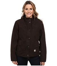 Carhartt Sandstone Berkley Jacket Dark Brown Women's Jacket