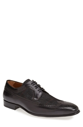 Mezlan 'Johann' Spectator Shoe Men Black Grey