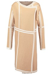 Anna Field Cardigan Camel Offwhite Off White