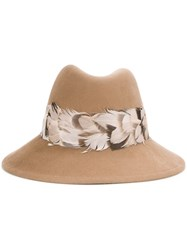 Eugenia Kim Fedora Hat Brown